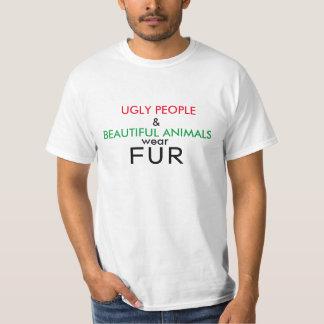 De Lelijke Mensen van het Overhemd van de veganist T Shirt