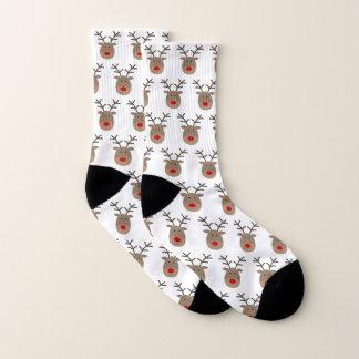 De lelijke sokken van Kerstmis met grappig