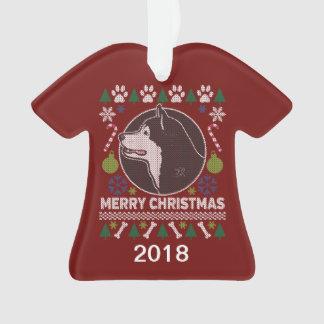 De Lelijke Sweater van Alaska van Kerstmis Ornament