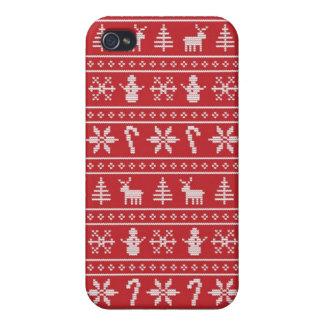 De Lelijke Sweater van de winter iPhone 4 Hoesjes