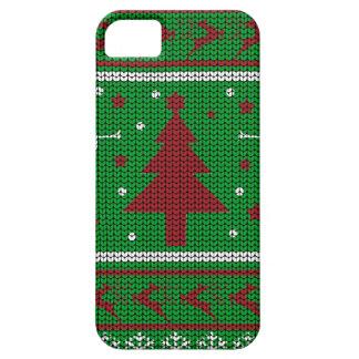 De lelijke Sweater van Kerstmis Barely There iPhone 5 Hoesje
