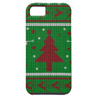 De lelijke Sweater van Kerstmis Tough iPhone 5 Hoesje