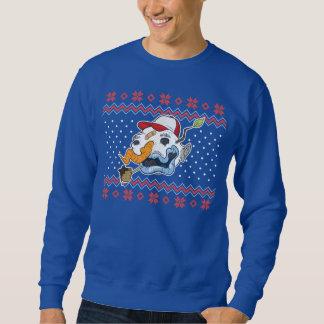De lelijke Sweater van Kerstmis van de Sneeuwman