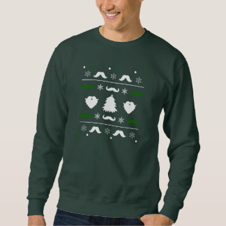 De lelijke Sweater van Kerstmis van de Snor