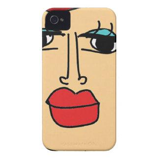 de lelijke vrouwen iPhone 4 hoesje