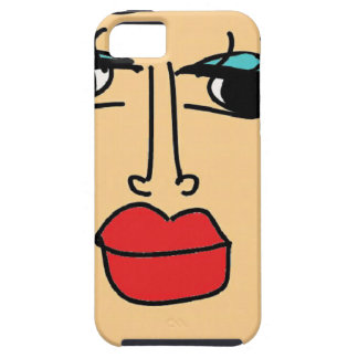 de lelijke vrouwen tough iPhone 5 hoesje