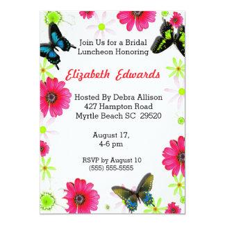 De lente bloeit de Bruids Uitnodiging van het
