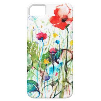 De lente bloeit de Illustratie van Waterverven Barely There iPhone 5 Hoesje
