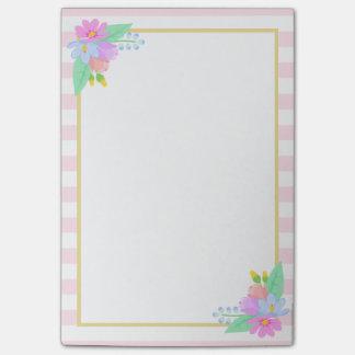 De lente bloeit Roze van Strepen post-it®- Nota's Post-it® Notes