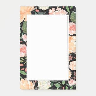 De lente blozen en de BloemenZwarte van de Post-it® Notes