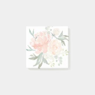 De lente blozen en de Waterverf van de Perzik Post-it® Notes