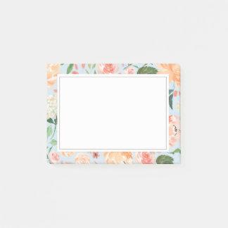 De lente blozen en het BloemenBlauw van de Post-it® Notes