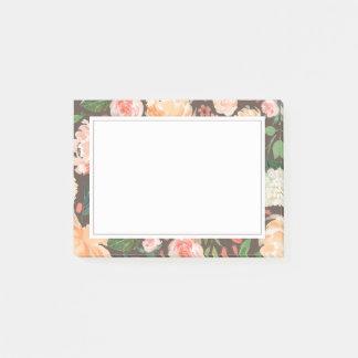 De lente blozen en het BloemenGrijs van de Post-it® Notes