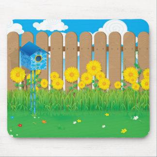 De lente Dag Mousepad Muismat