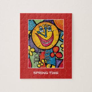 De lente - de Stukken van de Tijd Puzzel
