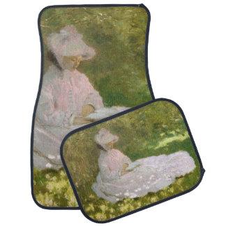 De lente door Claude Monet Auto Vloermat