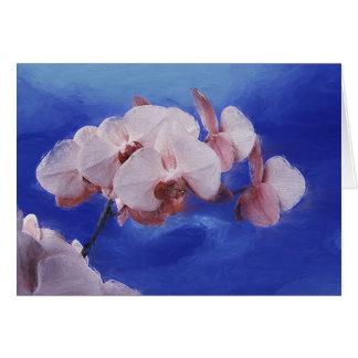 De Lente van de orchidee Kaart