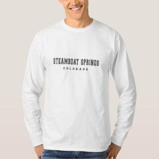 De Lentes Colorado van de stoomboot T Shirt