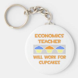 De Leraar van de economie zal… voor Cupcakes werke Sleutel Hanger
