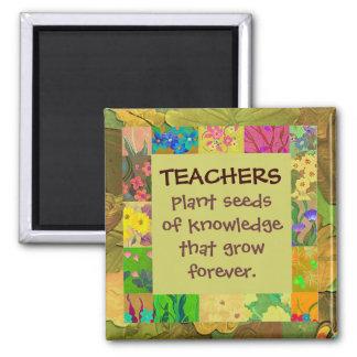 de leraren danken u magneet