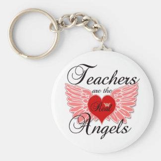 De leraren zijn de Echte Engelen Sleutelhanger