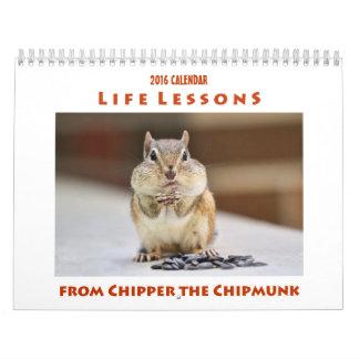 De Lessen van het leven van Chipper de Kalender