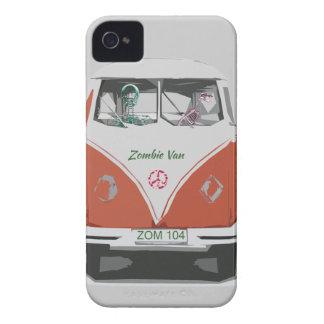 De leuke bestelwagen van de Zombie met de dekking iPhone 4 Hoesje