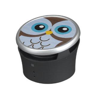 De leuke Blauwe Spreker van de Uil Bluetooth Speaker