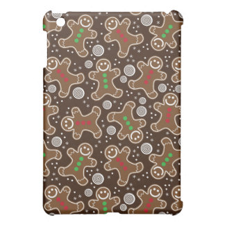 De leuke Bruine Rode Groene Peperkoeken van iPad Mini Hoesje