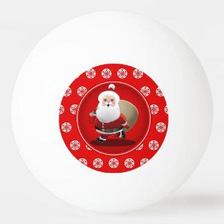 De leuke Cartoon van de Kerstman Pingpongballen