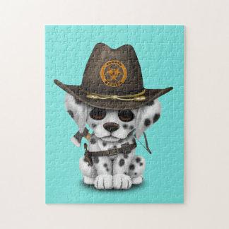 De leuke Dalmatische Jager van de Zombie van het Legpuzzel