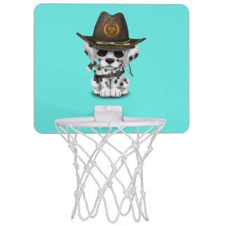 De leuke Dalmatische Jager van de Zombie van het Mini Basketbalring