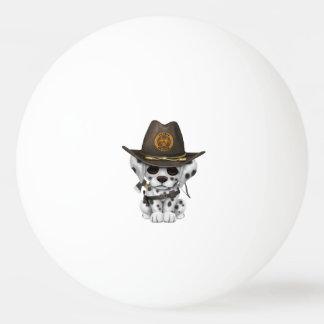 De leuke Dalmatische Jager van de Zombie van het Pingpongbal