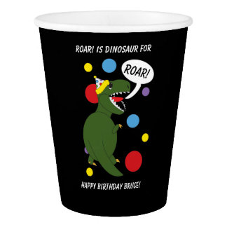 De leuke Dinosaurus personaliseert de Kinder