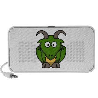 De leuke Draak van de Cartoon iPod Speaker