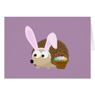 De leuke Egel van Pasen Kaart