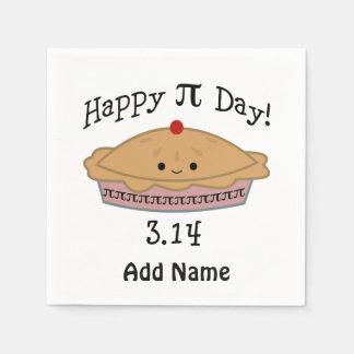 De leuke Gelukkige Dag van Pi! Papieren Servetten