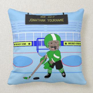 De leuke Gepersonaliseerde ster van het Ijshockey Sierkussen