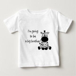 De leuke Gestreepte T-shirt van de Grote Broer