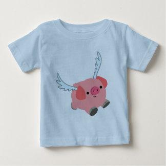 De leuke Gevleugelde T-shirt van het Baby van het