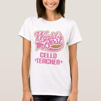 De leuke Gift van de Leraar van de Cello T Shirt