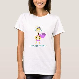 De leuke Giraf van de Held T Shirt