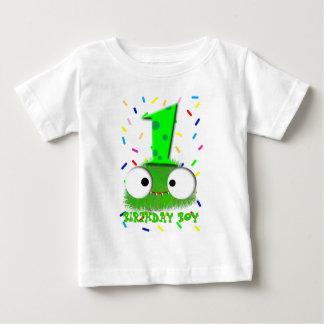 de leuke grappige eerste verjaardag van het baby t shirts