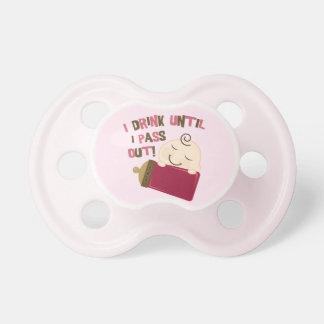 De leuke Grappige Humor van het Baby die ik tot ik Fopspeentje