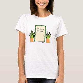 De leuke Grappige Optische T-shirt van de Dames