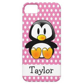 De leuke Grappige Pinguïn van de Cartoon Barely There iPhone 5 Hoesje