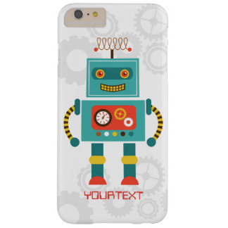 De leuke Grappige Science fiction van de Robot Barely There iPhone 6 Plus Hoesje