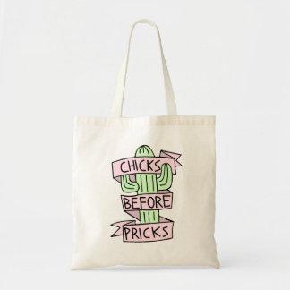 De leuke Grappige Zak van het Bolsa van de Cactus Budget Draagtas