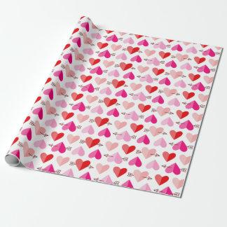 De Leuke Harten van de Valentijnsdag & het Roze & Cadeaupapier