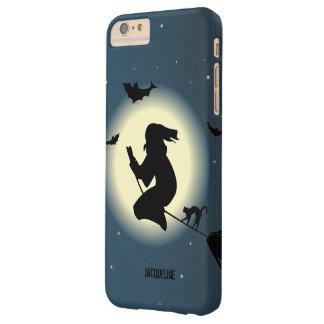 De leuke Heks van Halloween in Actie iPhone 6 Plus Barely There Case